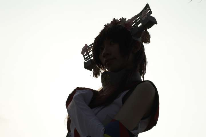 Yamato Kancolle Cosplay Silhouette 1