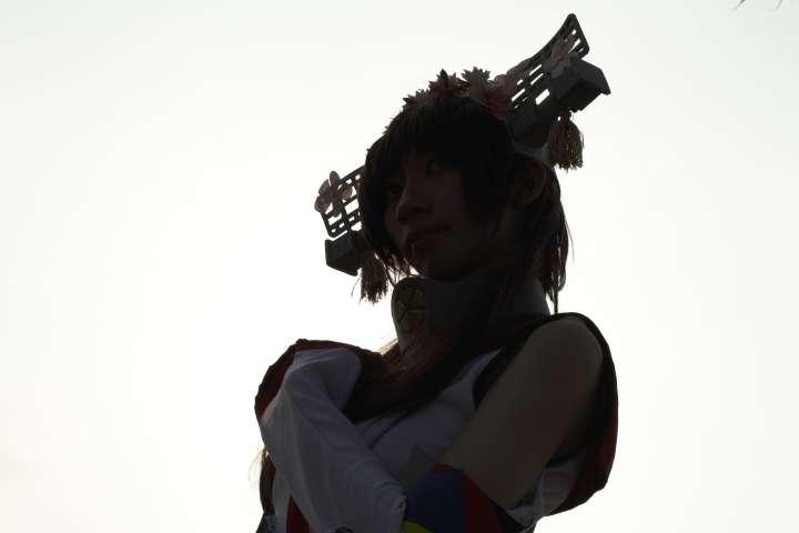 Yamato Kancolle Cosplay Silhouette 1