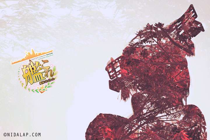 Yamato Kantai Collection Double Exposure Abstract